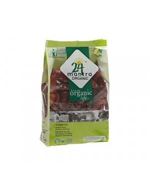 24LM ORGANIC RED STICK CHILLY 100GM