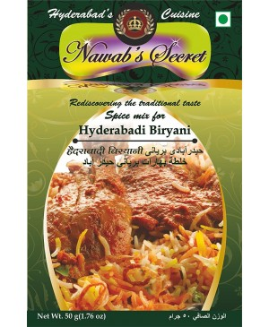 Nawab's Secret Hyderabadi Biryani Masala, 50 gm