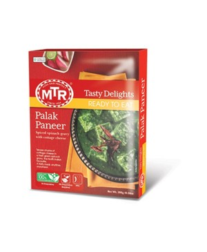 MTR PALAK PANEER READY TO EAT 300GM